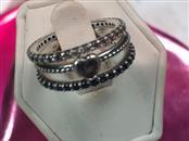 Pandora Lady's Silver Ring 925 Silver 3.4dwt Size:5.5
